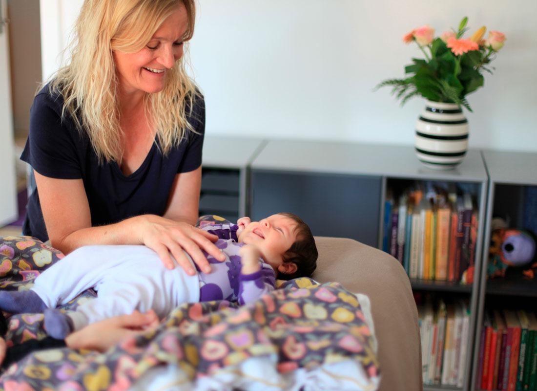 kranio-sakral terapi til baby