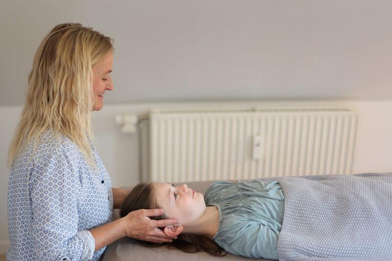 Biodynamisk kranio-sakral terapi til børn