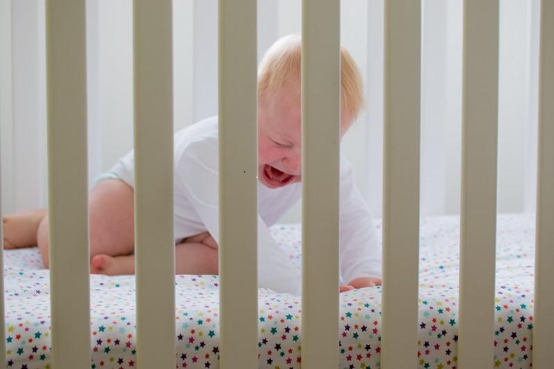 baby med søvnproblemer