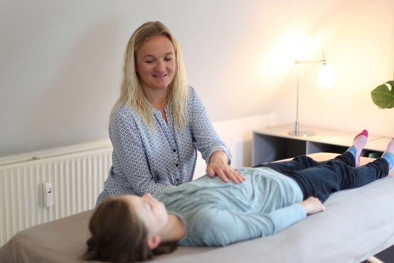 kranio-sakral terapi til børn, der ikke kan falde i søvn