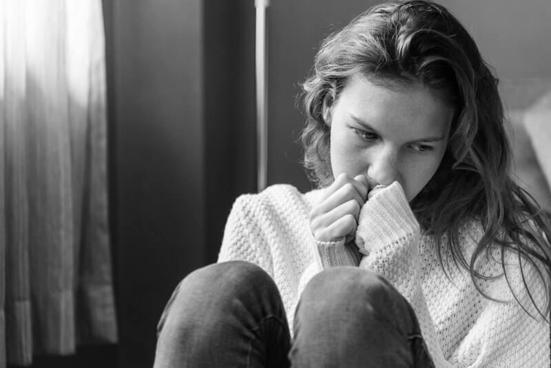 Hjælp med psykoterapi ved psykoterapeut efter chokerende oplevelse
