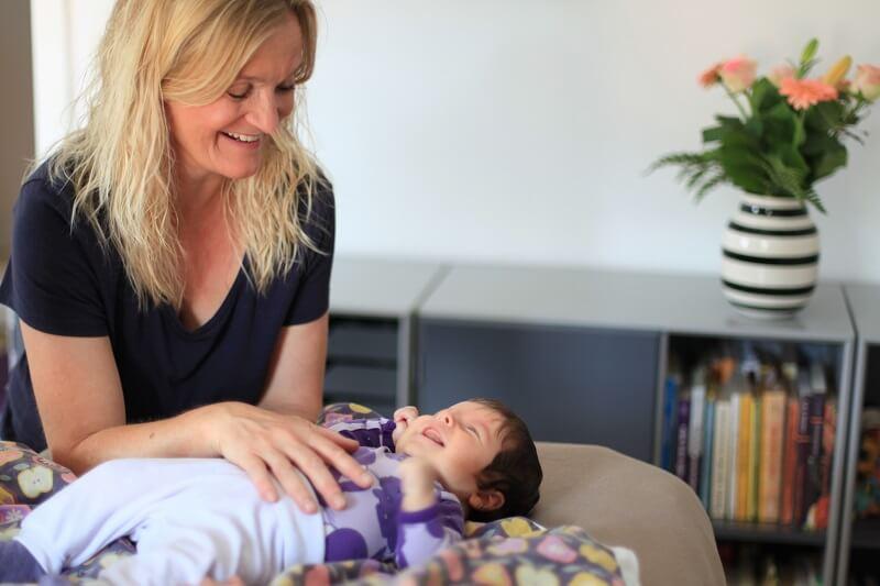 biodynamisk kranio-sakral-terapi til baby